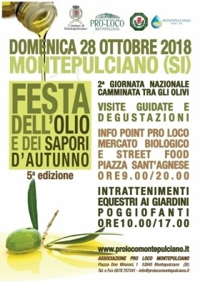 Festa dell'Olio e dei Sapori d'Autunno -  Enocuriosi di Wine and Tours