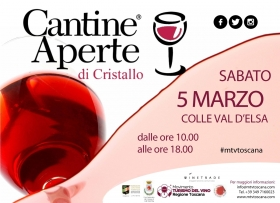 Cantine Aperte di Cristallo - Crystal Open Cellars - Wine and Tours by Enocuriosi