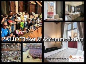 PALIO TICKET -  Enocuriosi by Wine and Tours