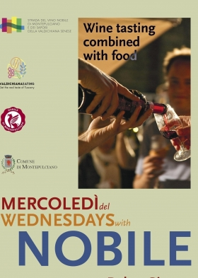 Wednesdays with Nobile -  Enocuriosi by Wine and Tours
